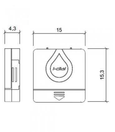 Programadores de riego I-DIAL (4 estaciones. Interior)
