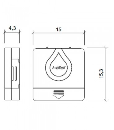 Programadores de riego I-DIAL (8 estaciones. Interior)