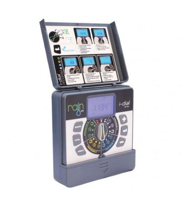 Programador de riego I-DIAL 6 estaciones. 24VAC INTERIOR