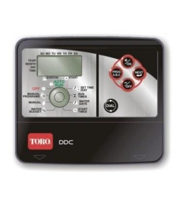 Programador de riego a pilas Toro DDC (4 estaciones. Interior)