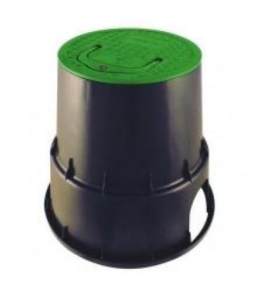 Arqueta 2 válvulas. 24.5/33.5 cm (altura 26.4 cm).