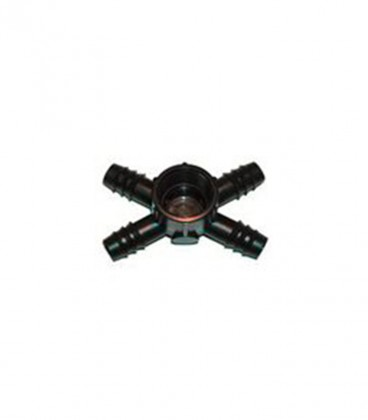 "Conector cuádruple rosca hembra 4x20mm-1"""