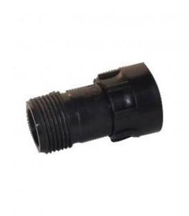 """Colector de PVC para válvulas 1"""" Manguito H-M"""