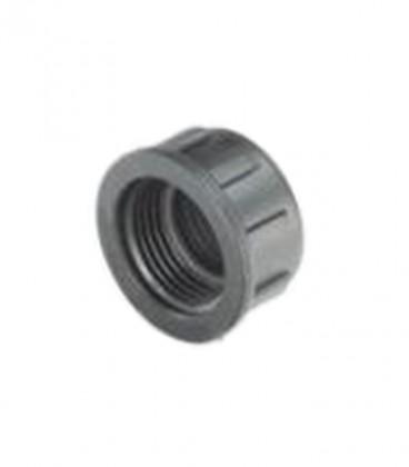 """Colector de PVC para válvulas 1"""" Tapón H"""