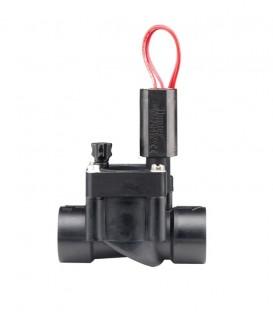 """Electroválvula PGV-100G-B 1"""". Rosca Hembra. PVC. con solenoide de 24 VCA. Hunter"""
