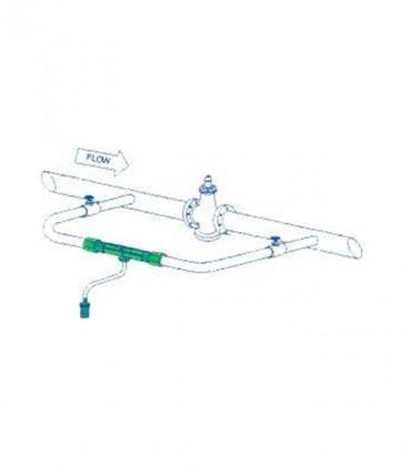 Inyector venturi para riego