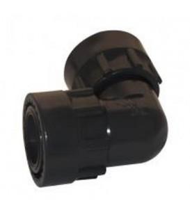 """Colector de PVC para válvulas Codo 1"""" H-H"""