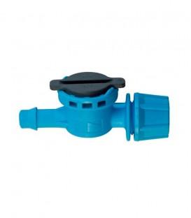 FLF Nebulizador, 1 salida, conexión cónica M, 5,40 l/h, azul claro, 10 uds