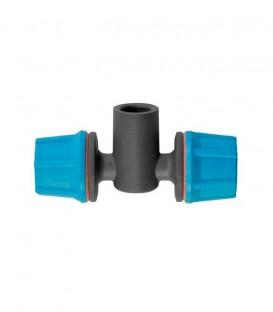 FLF Nebulizador. 2 salidas. conexión cónica H. 5.40 l/h. azul claro. 10 uds
