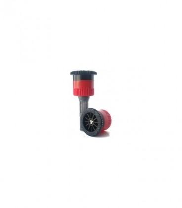 Difusor de riego Hunter PSU-04-8A. Alcance 2.4 m. Regulable de 0º a 360º. Emergente 10 cm.