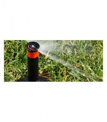 Difusores de riego HUNTER PSU-04-17A. Alcance 5.2 m. Regulable de 0º a 360º. Emergente 10 cm.