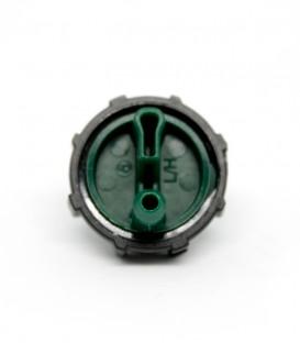 Gotero Turbulento E1000. 8 l/h. verde