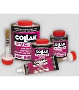Adhesivo PVC-25T Collak lata 1/2 kg con pincel