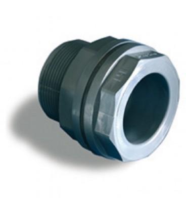 "Pasamuros PVC 32x1 1/4""."