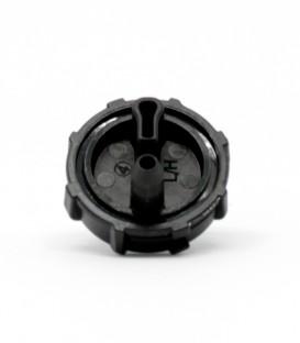 Gotero Turbulento E1000. 4 l/h. negro. (100 uds.)