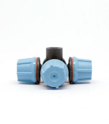 Nebulizador FLF 4 salidas conexión cónica