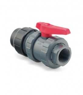 Válvula de bola PVC Fitting - R/H 40 mm x 11/4""