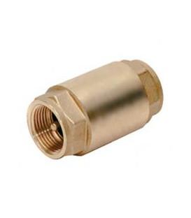 "Válvula de retención. tipo york. H-H 1/2"". Obturador metálico."