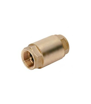 "Válvula de retención. tipo york. H-H 1 1/2"". Obturador metálico."