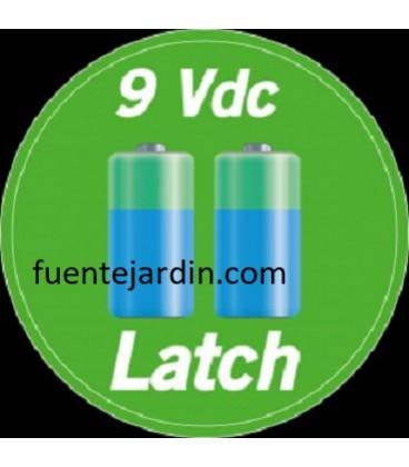 Electroválvula Rain 9 Vdc, latch.
