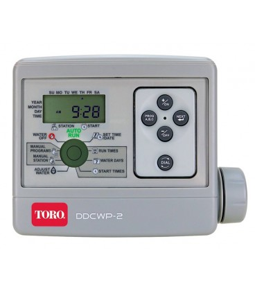 Programador de riego TORO DDCWP-2-9V