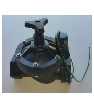 Electroválvula Baccara H-H con solenoide Latch 9-12VDC
