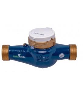 """Contador de agua de chorro múltiple esfera seca 1 1/4"""". 30mm. Qn 5"""