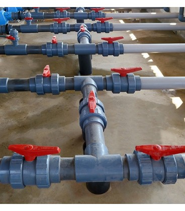 Válvula de bola PVC encolar