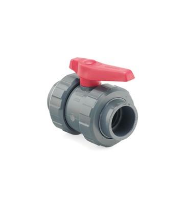 Válvula de bola PVC encolar Ø 40mm