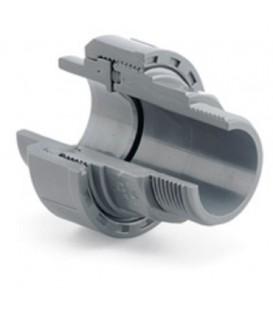 Enlace 3 Piezas PVC Encolar - Rosca Macho 25x3/4