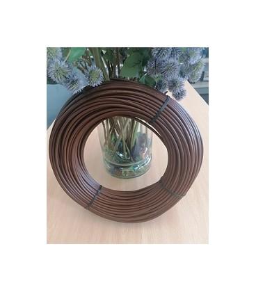 Microtubo PE-FLEXIBLE 5x3 mm. Rollo 100 ml. marrón.