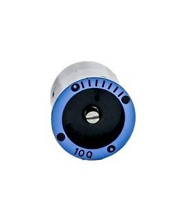 Tobera Rain Bird MPR 10Q, 90º, ángulo 15º, radio 3,1, azul.
